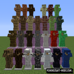Block Armor Mod For Minecraft 1.12.2