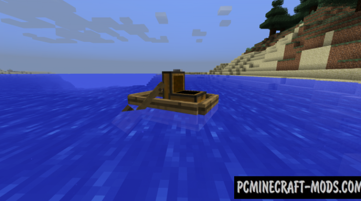 Storage Boats - Tweak Mod For Minecraft 1.12.2, 1.11.2, 1.10.2