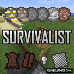 Survivalist - Surv Tweaks Mod For Minecraft 1.16.3, 1.15.2, 1.14.4