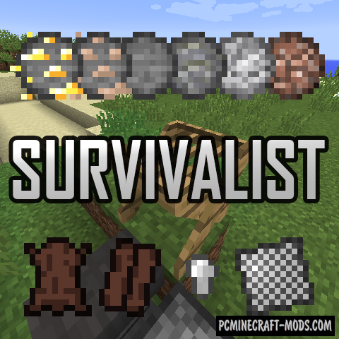 Survivalist - Surv Tweaks Mod For Minecraft 1.16.5, 1.12.2, 1.8.9