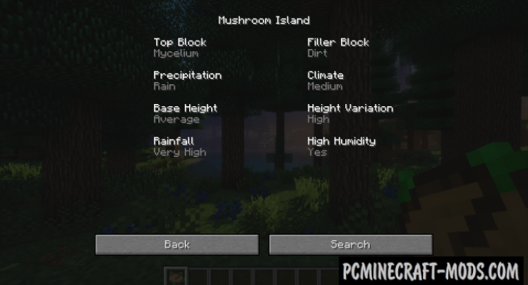 Nature's Compass Mod For Minecraft 1.12.2, 1.11.2, 1.10.2, 1.7.10