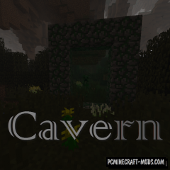 Cavern 2 - Dimensions Mod For Minecraft 1.12.2
