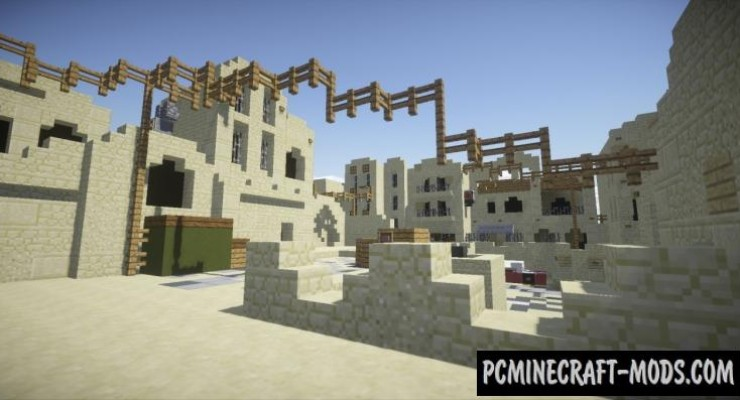 CounterStrike GO De Dust_II - PvP Map For MC