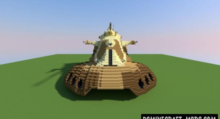 Armored Assault Tank Map For Minecraft