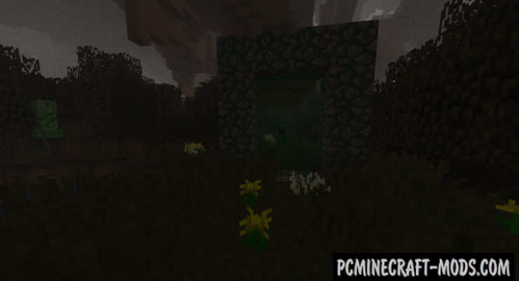 Cavern Mod For Minecraft 1.12.2, 1.11.2, 1.10.2, 1.9.4