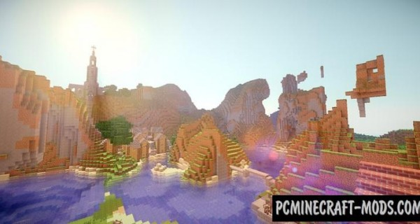 E-land Map For Minecraft