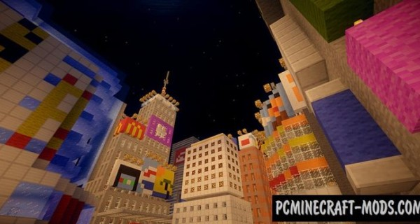 E-land - City Map For Minecraft