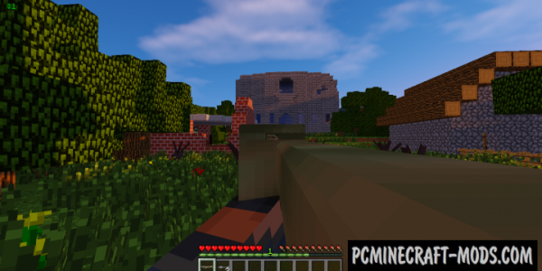 Call to Battle Mod For Minecraft 1.7.10