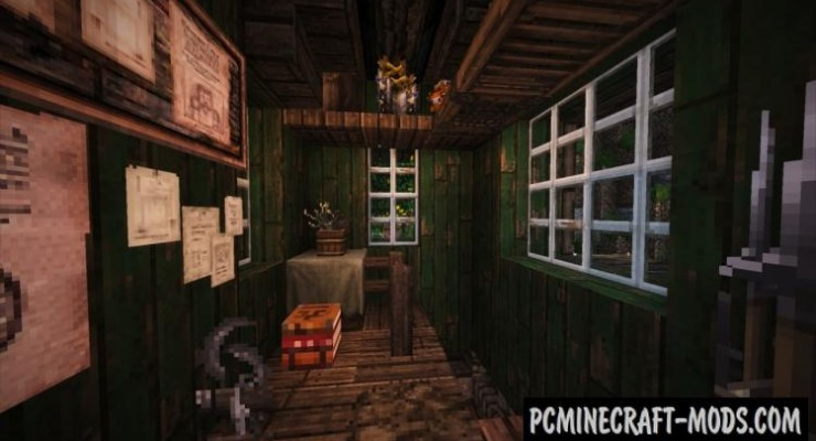 Old Rustic House Map For Minecraft