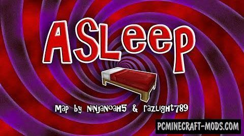Asleep - Adventure Map For Minecraft