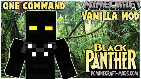 Black Panther Command Block For Minecraft 1.8.9