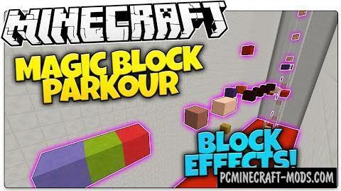 Block Parkour Map For Minecraft
