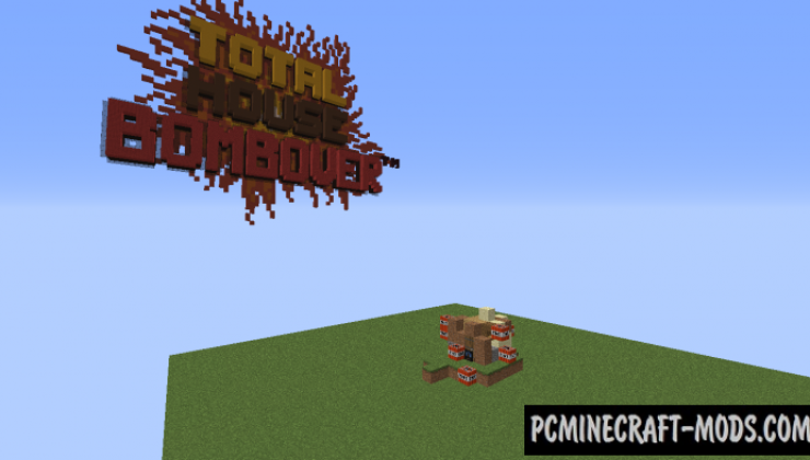 Total House Bombover - Minigame Map For MC