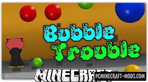 Bubble Trouble - Minigame Map For Minecraft