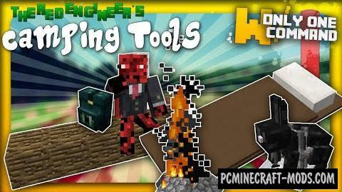 Camping Tools Command Block For Minecraft 1.8.8, 1.8