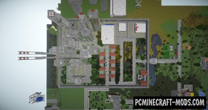 Open World Zombie Apocalypse Map For Minecraft
