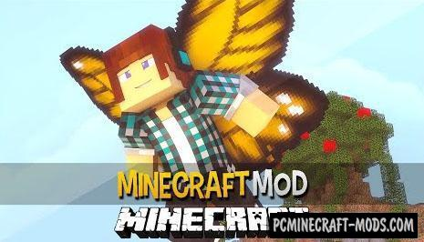 Cosmetic Wings Mod For Minecraft 1.10.2, 1.9.4, 1.7.10