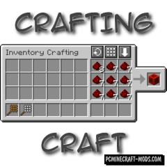 CraftingCraft - Decor Workbench Mod For MC 1.15.1, 1.14.4