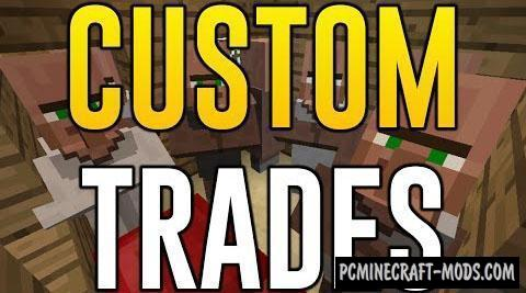 Custom Trades - Surv, Tweak Mod For MC 1.12.2, 1.8.9, 1.7.10