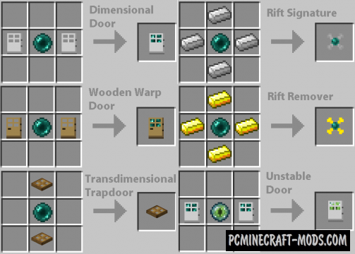 Dimensional Doors Mod For Minecraft 1.7.10