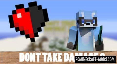 Don't Take Damage 3 Map For Minecraft