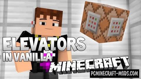 Elevators Command Block For Minecraft 1.8.8, 1.8