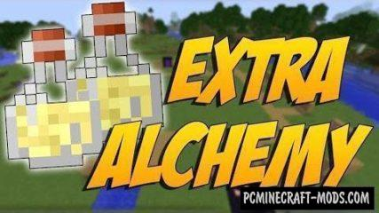 Extra Alchemy - New Items Mod For Minecraft 1.16, 1.15.2, 1.12.2