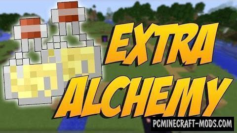 Extra Alchemy - New Items Mod For MC 1.16.5, 1.16.4, 1.12.2
