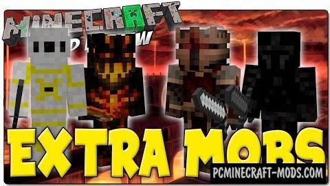 Extra Mobs - Monsters Mod For Minecraft 1.7.10