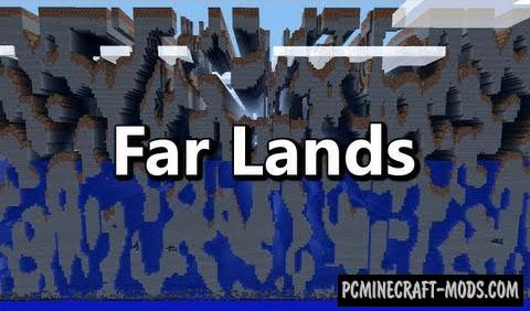 FarLands - Generation Mod For Minecraft 1.7.10