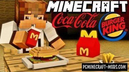 FastFood Mod For Minecraft 1.12.2, 1.10.2, 1.9.4, 1.7.10