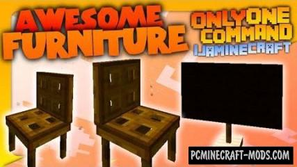 Furniture Command Block For Minecraft 1.8.8, 1.8