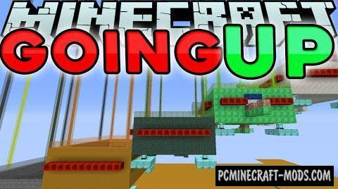 Going Up 2 Map For Minecraft