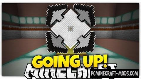 Going Up Map For Minecraft