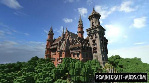 Castle Svebosin Map For Minecraft