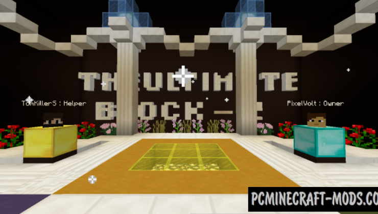 The Ultimate Block 2 Map For Minecraft