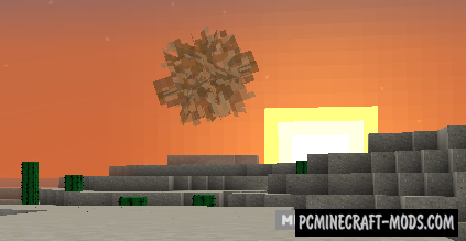 Tumbleweed - New Plant Mod For Minecraft 1.14.4, 1.12.2