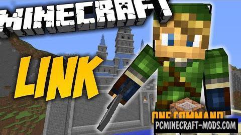 Link from Legend of Zelda Command Block - Minecraft 1.8.9