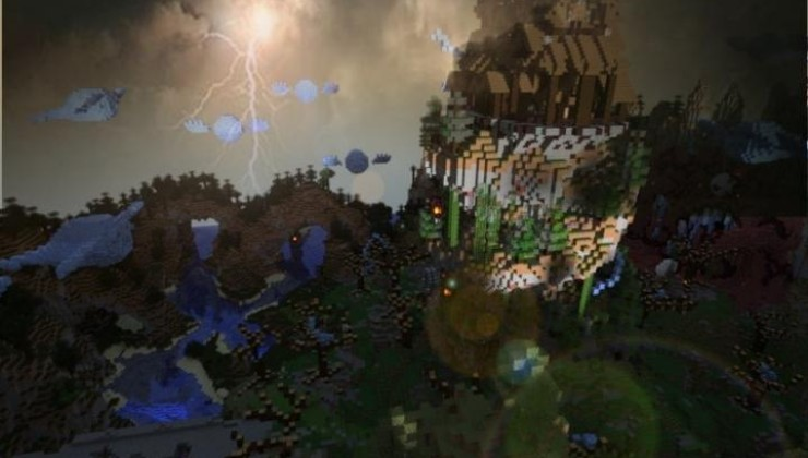 Haunted Mansion Halloween Map For Minecraft
