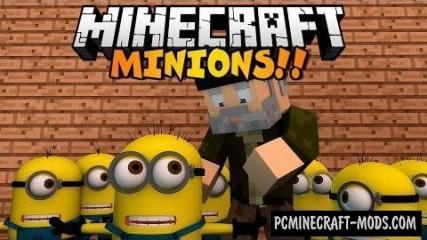 Minions Command Block For Minecraft 1.8.8, 1.8
