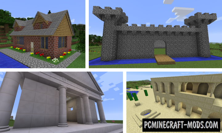 ArchitectureCraft Mod For Minecraft 1.10.2, 1.8.9, 1.7.10