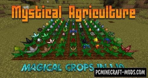 Mystical Agriculture - Farming Mod For MC 1.16.5, 1.12.2