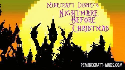 Halloween Town Map For Minecraft