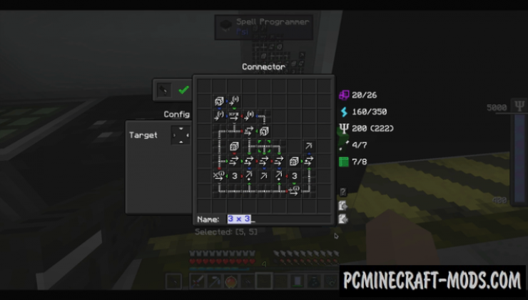 Psi - Magic, Mech Mod For Minecraft 1.16.5, 1.12.2, 1.8.9