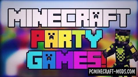 Party Games - Mini Games Map For Minecraft