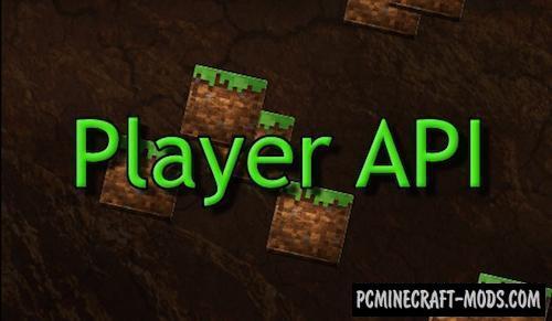 Player API Mod For Minecraft 1.9.4, 1.8.9, 1.7.10