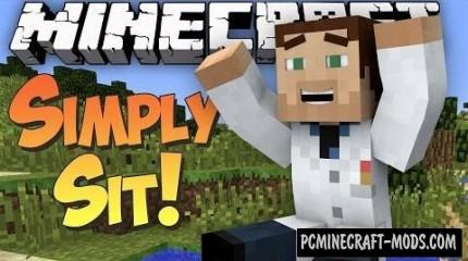 Simply Sit Mod For Minecraft 1.7.10