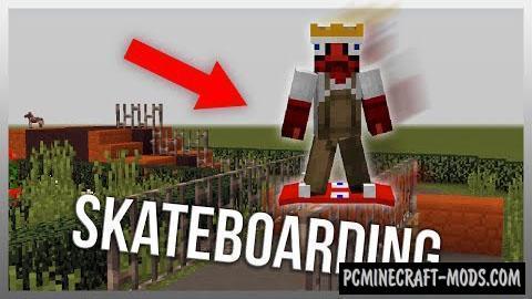 MrCrayfish's Skateboarding Mod For Minecraft 1.9.4