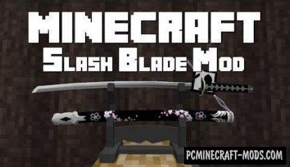 SlashBlade Mod For Minecraft 1.12.2, 1.11.2, 1.10.2, 1.9.4