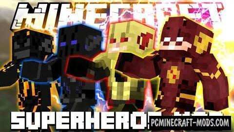 Superheroes Suits - Armor Mod For Minecraft 1.7.10
